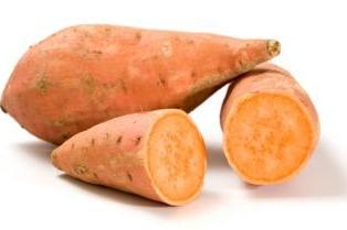 Zoete aardappelen Bataat