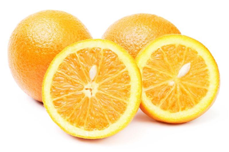 Perssinaasappelen halve doos