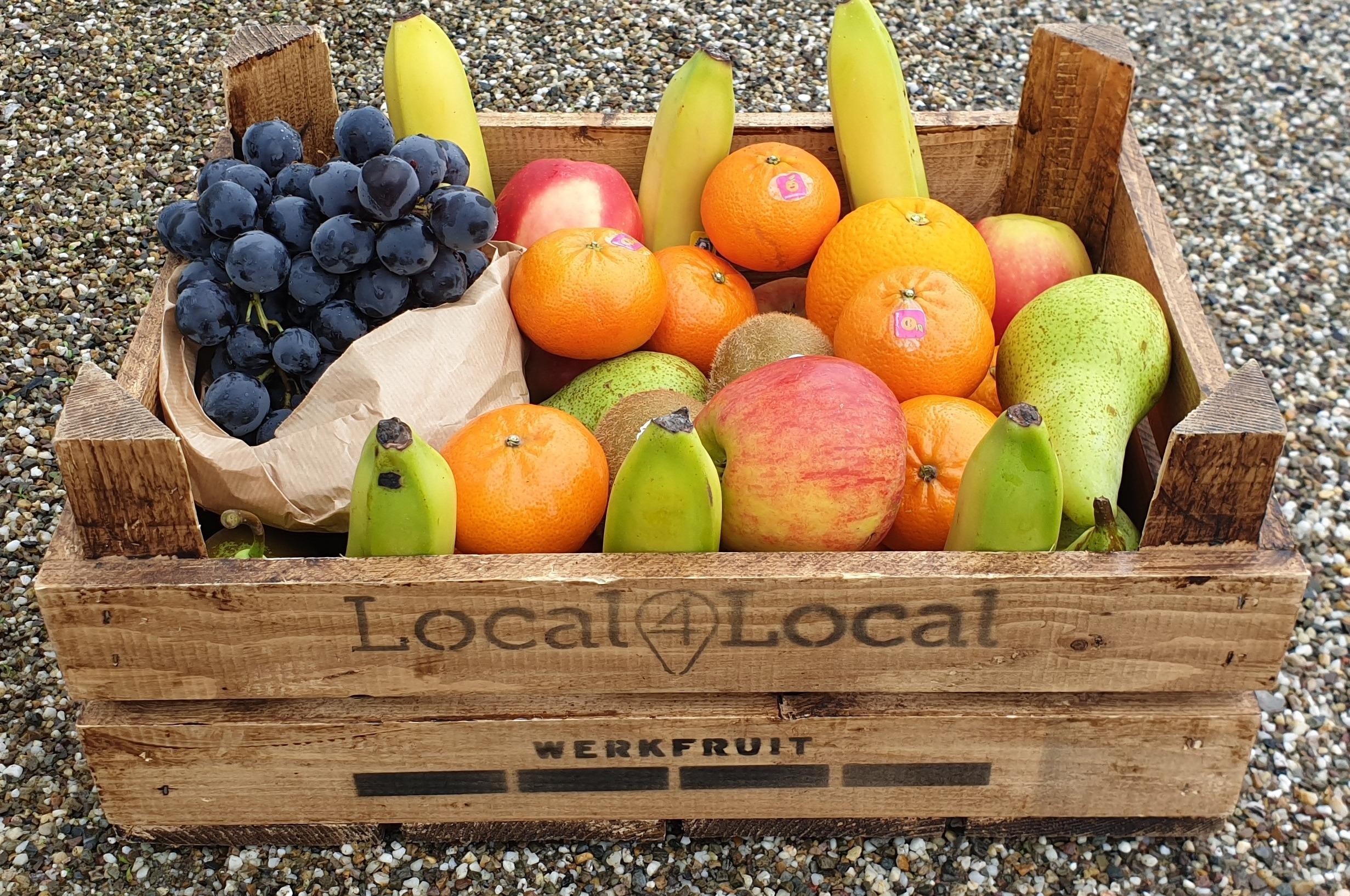 Werkfruit local 4 local  30 plus 1 x seizoen fruit