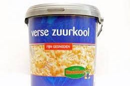 Zuurkool vers in emmer per 5 kilo