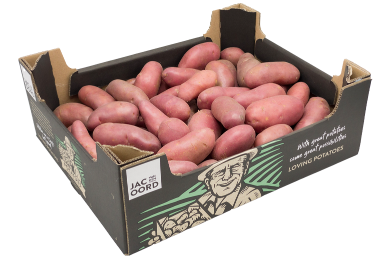 Roseval aardappel per doos 12.5 kilo