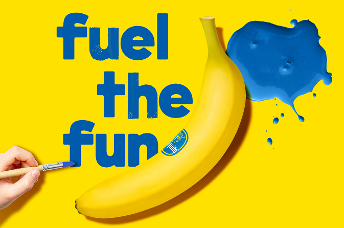 Chiquita bananen  per stuk