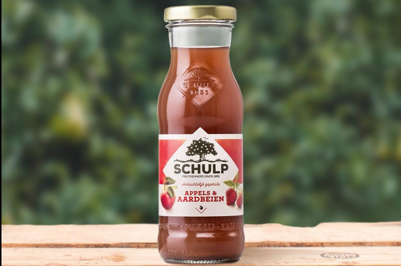 Appel - Aardbei Schulp 15 x 200 ml